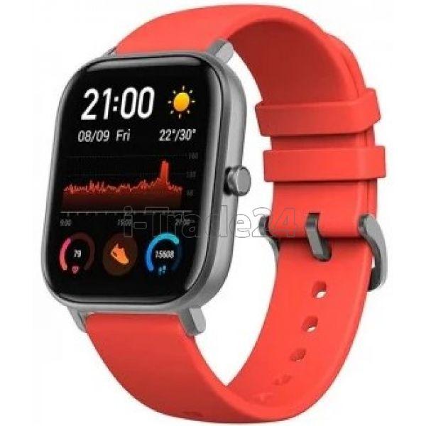 Умные часы Amazfit GTS Черный/оранжевый