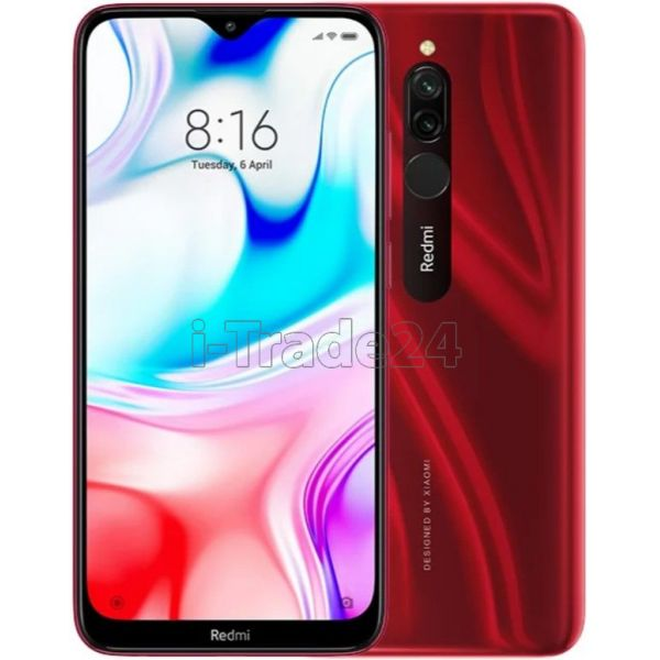 Смартфон Xiaomi Redmi 8 4/64GB (Red/Красный) Global Version