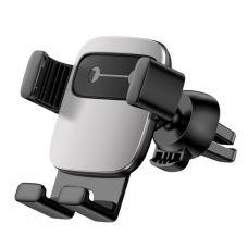 Автомобильный держатель Baseus Cube Gravity Vehicle-mounted Holder Silver
