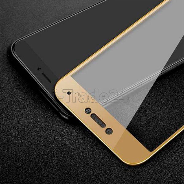 Защитное стекло полного покрытия для Xiaomi Mi5с золотое