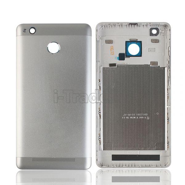 Задняя крышка Xiaomi RedMi 3 Pro серебро