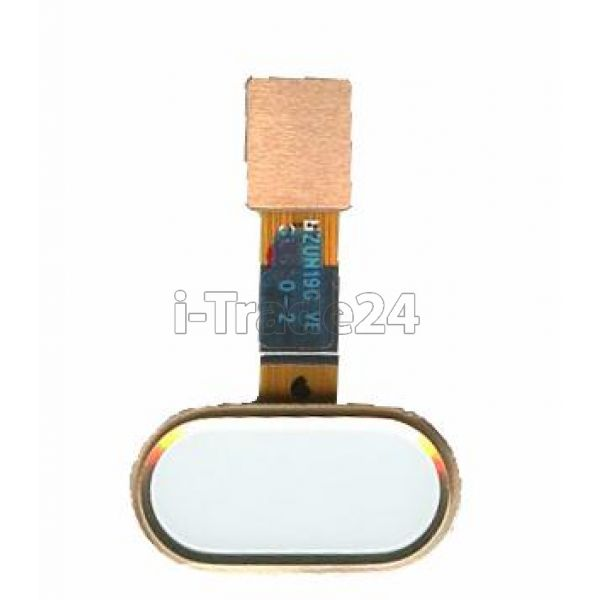 Кнопка Home Meizu M5 золотая