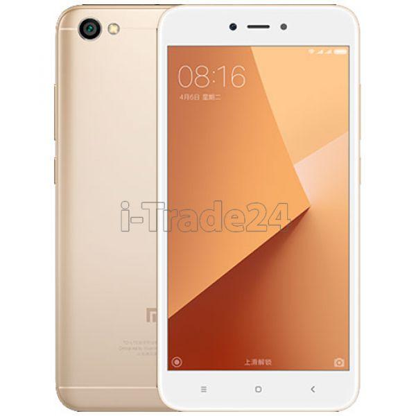 Xiaomi Redmi Note 5A 16Gb+2Gb Dual LTE (Gold/золотой) Global Version