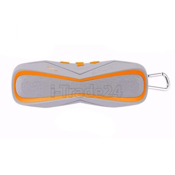 Портативная акустика Hoco BS3 Gray/Orange