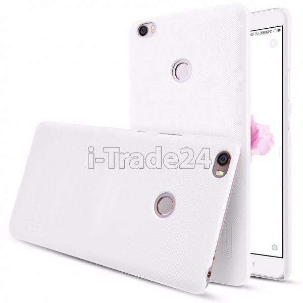 Чехол-накладка Nillkin Frosted Shield для Xiaomi Mi Max 2 (white/белый)