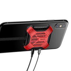 Вентилятор для охлаждения телефона Baseus X-Men Audio Radiator Red