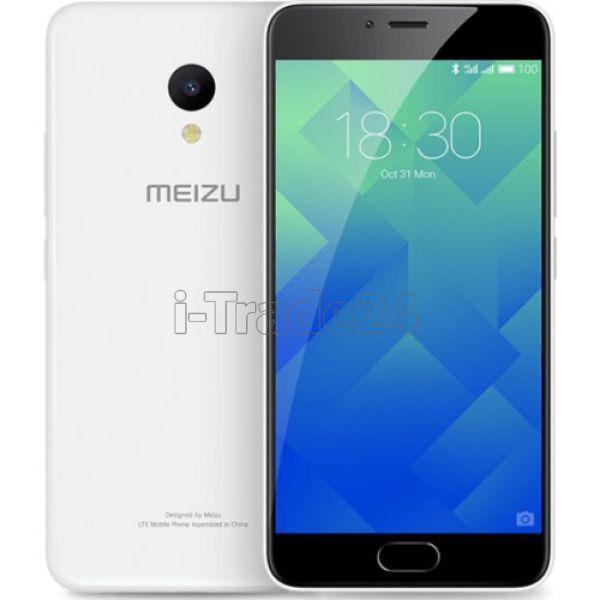 Meizu M5 16Gb+2Gb Dual 4G LTE (white/белый)