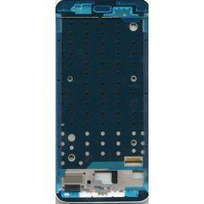 Рамка дисплея(средняя часть) Xiaomi A1 белая
