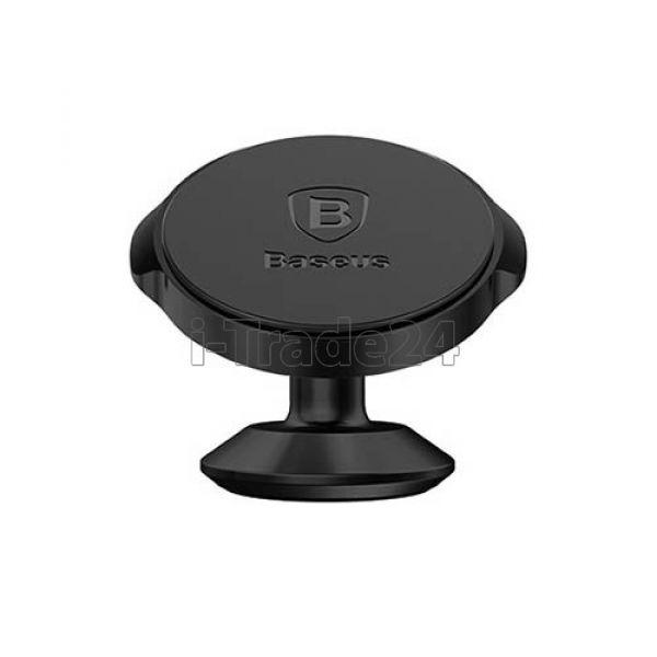 Автомобильный магнитный держатель Baseus Small Ears Series Magnetic Black