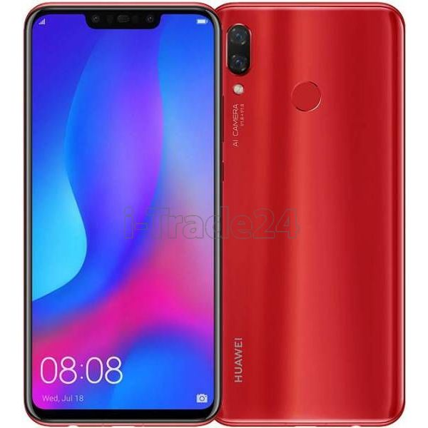 HUAWEI Nova 3 4/128GB Dual LTE (Red/Красный)