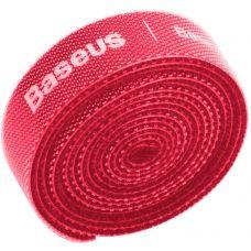 Органайзер проводов Baseus Rainbow Circle Velcro Straps 3m Red