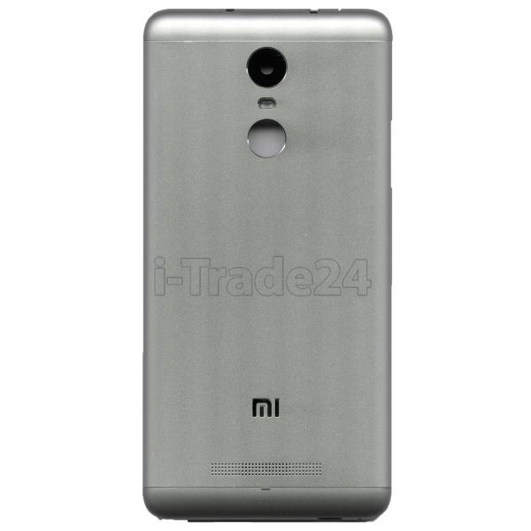 Задняя крышка Xiaomi RedMi 3S серебро