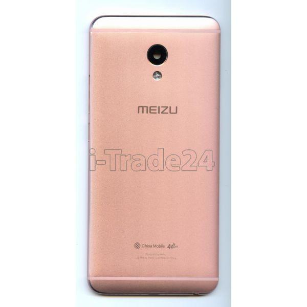 Задняя крышка для Meizu M3E розовая