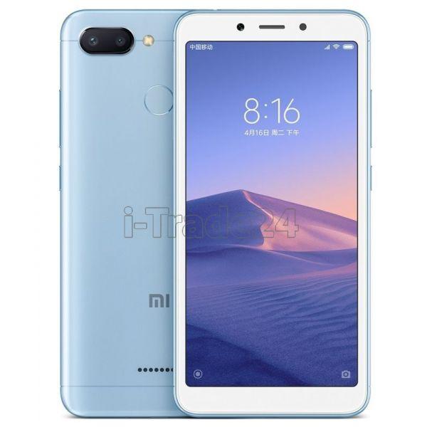 Xiaomi Redmi 6 3/32GB Dual LTE (blue/голубой) Global Version