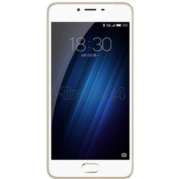 Meizu M3s mini 16Gb Dual LTE Gold Eвротест