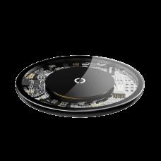 Беспроводное зарядное Baseus Simple Wireless Charger Transparent