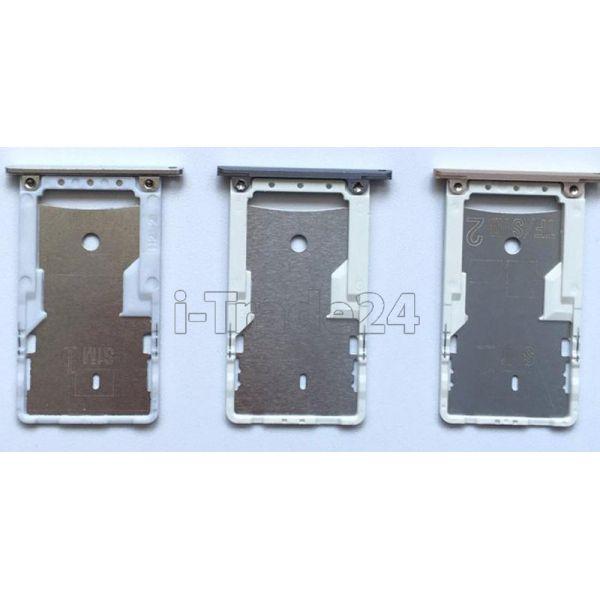 SIM лоток Xiaomi RedMi 3 Pro серый