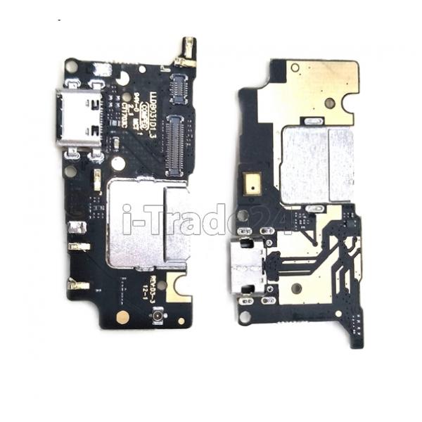 Нижняя плата Xiaomi Mi5c с USB разъемом