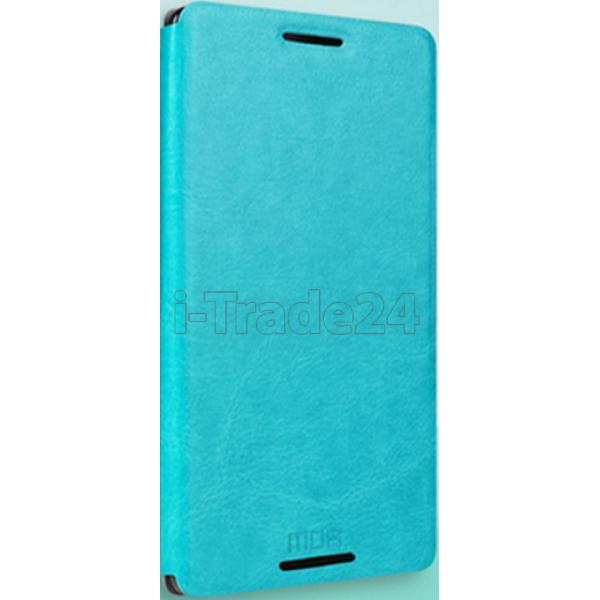 Чехол-книжка MOFI для Meizu M1 Note бирюзовый