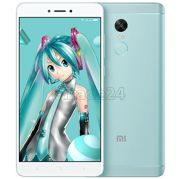 Xiaomi Redmi Note 4X 32Gb+3Gb Dual LTE (green/бирюзовый)