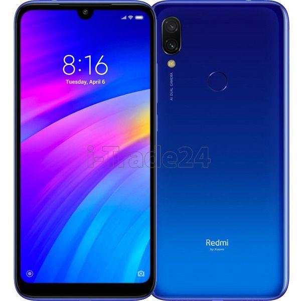 Смартфон Xiaomi Redmi 7 3/32GB Синий (Global Version EU)