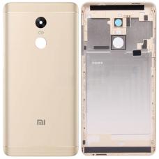 Задняя крышка Xiaomi RedMi Note 4X золотая