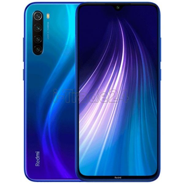 Смартфон Xiaomi Redmi Note 8 4/64 (Blue/Синий) Global Version