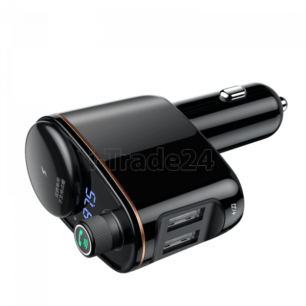 Автомобильная зарядка Baseus Locomotive Bluetooth MP3 Vehicle Charger