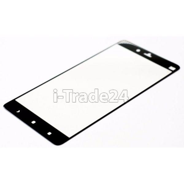 Защитное стекло полного покрытия для Xiaomi Mi Note черное