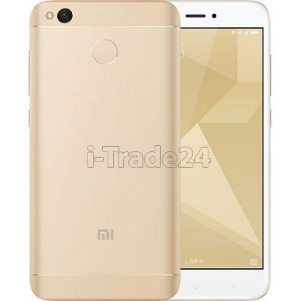 Xiaomi Redmi 4X 32Gb+3Gb Dual LTE (gold/золотой) EU