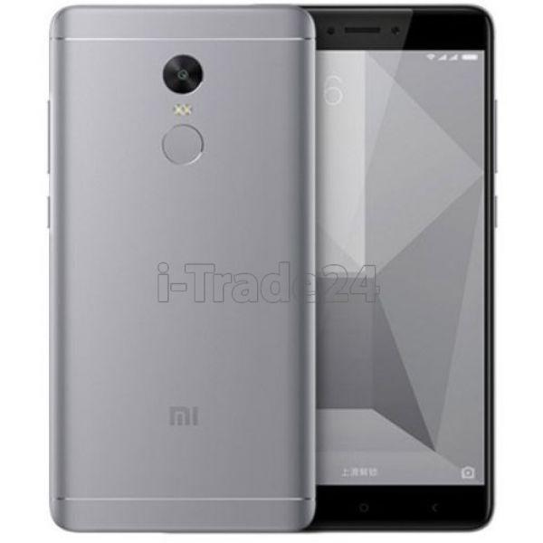 Xiaomi Redmi Note 4 64Gb+4Gb Snapdragon 625 Dual LTE (gray/серый) EU