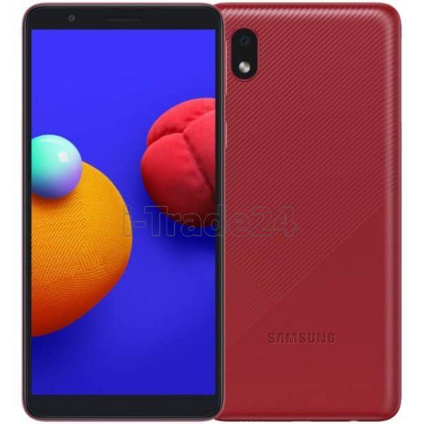 Смартфон Samsung Galaxy A01 Core 16GB Red (Красный)
