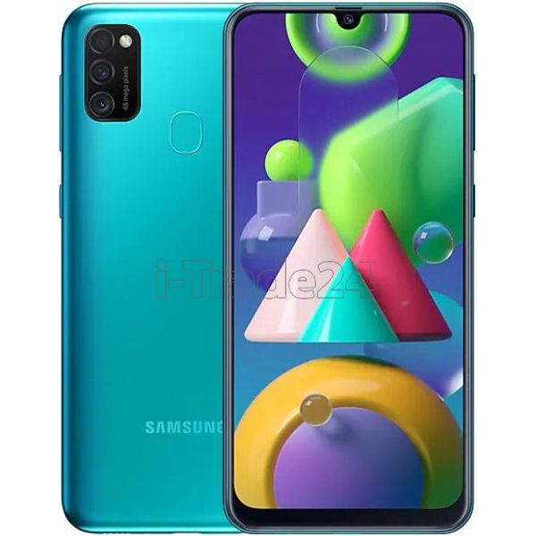 Смартфон Samsung Galaxy M21 (Green/Зеленый)