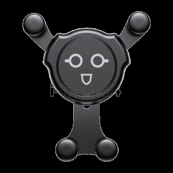 Автомобильный держатель Baseus Emoticon Gravity Car Mount 02 Black