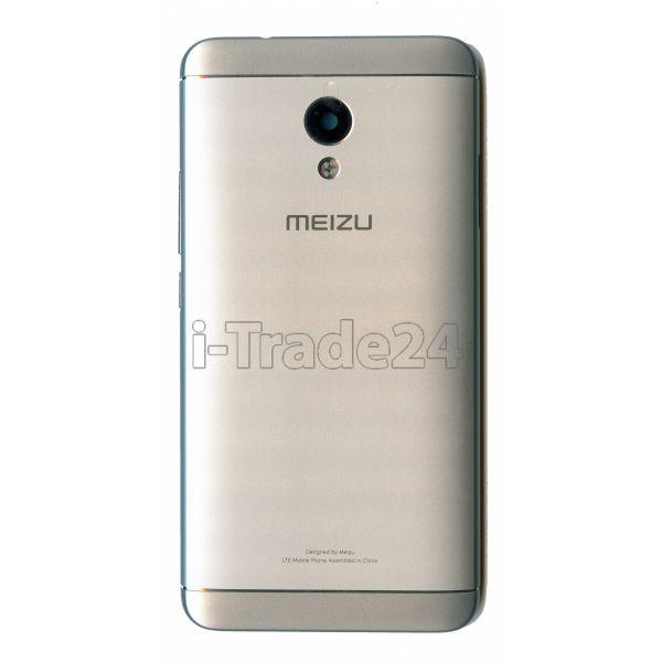 Задняя крышка для Meizu M5s серебро