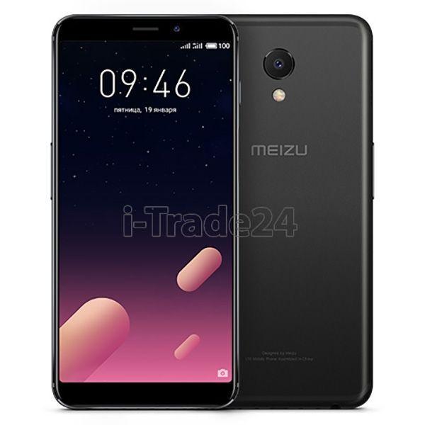 Meizu M6s 64Gb+3Gb Dual LTE (black/черный)