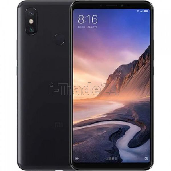 Xiaomi Mi Max 3 4/64GB Dual LTE (black/черный) Global Version