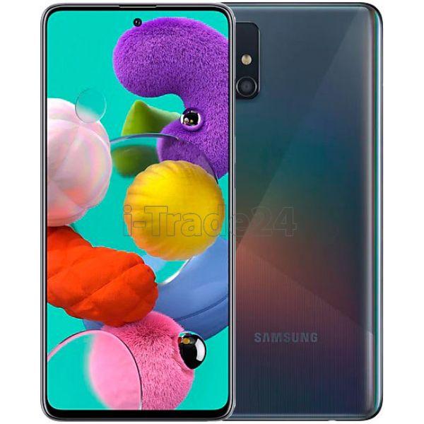 Смартфон Samsung Galaxy A51 128Gb (SM-A515F) Black/Черный