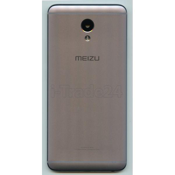 Задняя крышка для Meizu M5 Note серая