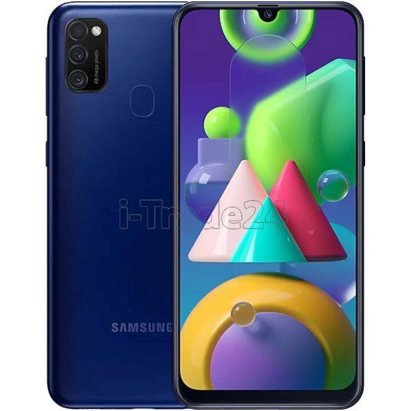 Смартфон Samsung Galaxy M21 (Blue/Синий)
