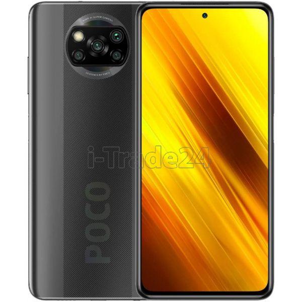 Смартфон Xiaomi Poco X3 NFC 6/128GB (Grey/Серый) Global Version