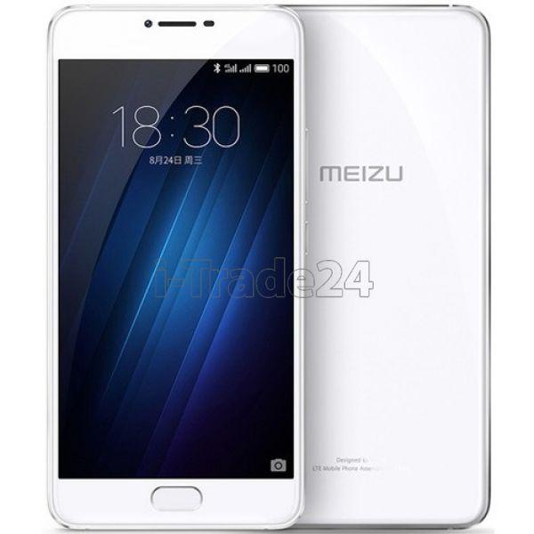 Meizu U20 16Gb Dual LTE 4G (white/белый)