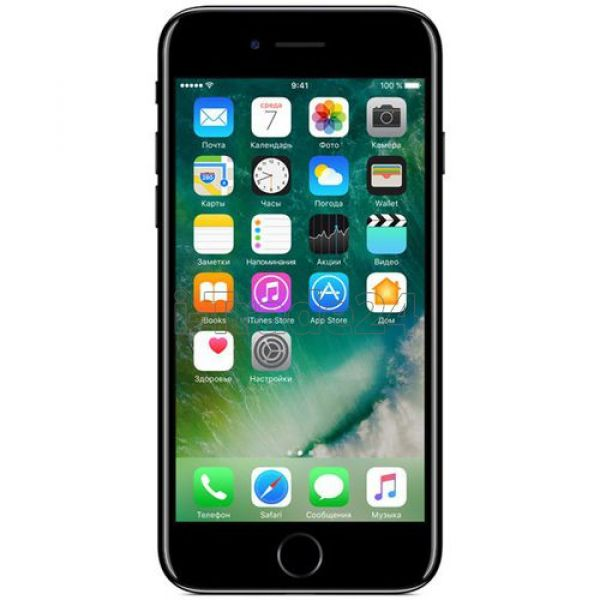 Apple iPhone 7 128Gb (Jet Black/Черный оникс)