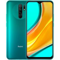 Смартфон Xiaomi Redmi 9 4/64GB Green (Зеленый) EU