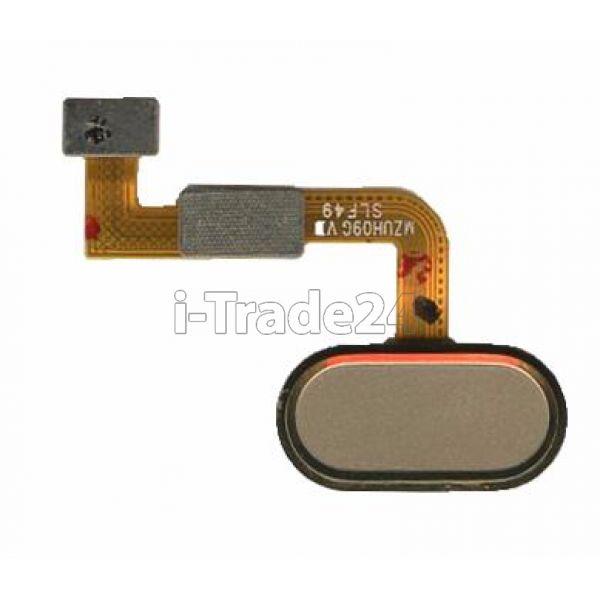 Кнопка Home Meizu M3X золото