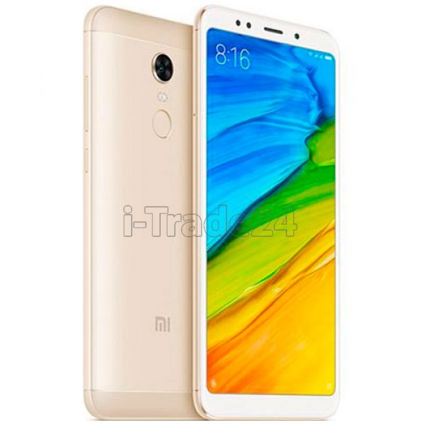Xiaomi Redmi 5 Plus 64Gb+4Gb Dual LTE (gold/золотой) Global Version