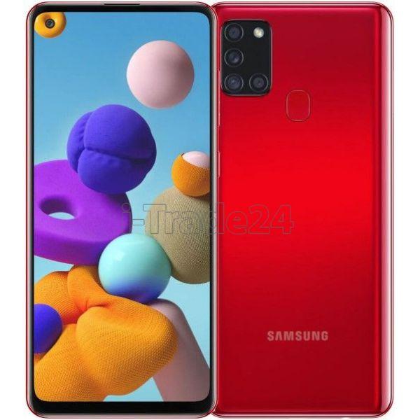 Смартфон Samsung Galaxy A21s 3/32GB Красный (Red)