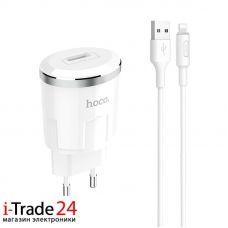 СЗУ Hoco C37A + кабель Lightning