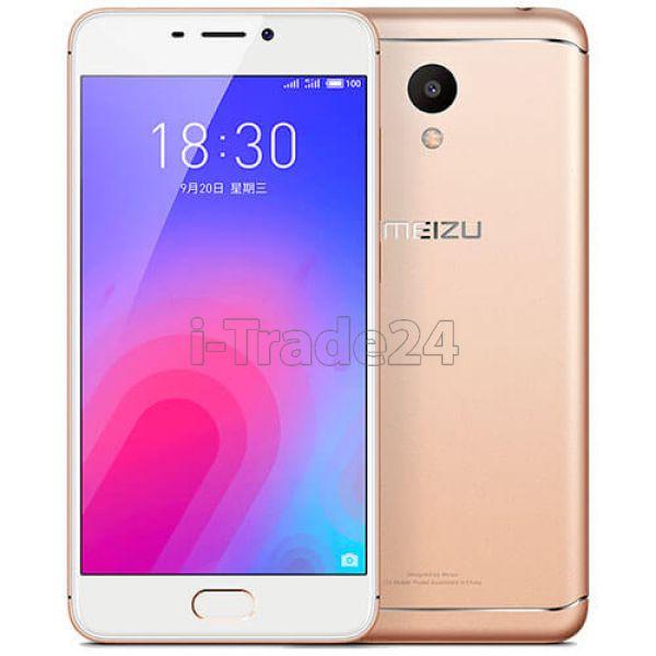 Meizu M6 32Gb+3Gb Dual LTE (gold/золотой) EU Spec