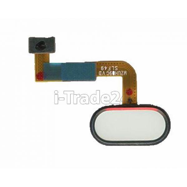 Кнопка Home Meizu M3X белая